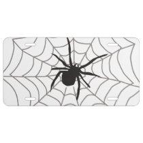 Creepy Crawly Spider License Plate