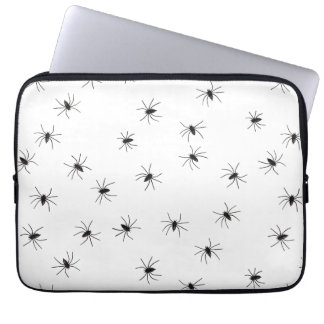 Creepy Crawly Spiders Laptop Sleeve