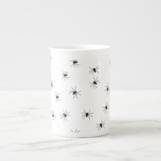 Creepy Crawly Spiders Tea Cup