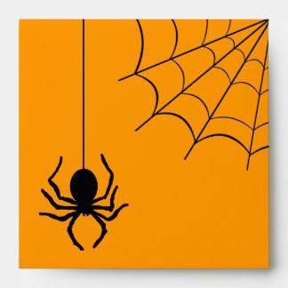Creepy Creepy Spider Halloween Envelope