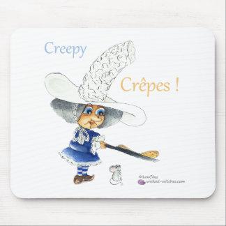Creepy Crepes Wicked Witches Alfombrilla De Ratones