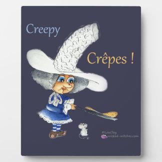 Creepy Crepes Wicked Witches Placas Para Mostrar