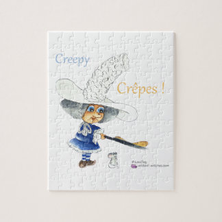 Creepy Crepes Wicked Witches Puzzles