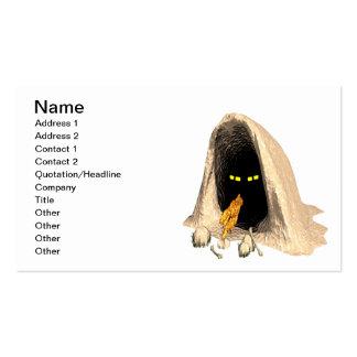 Creepy Critter Business Card Template