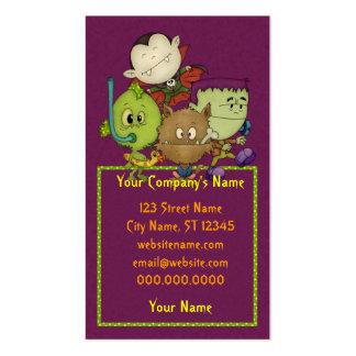Creepy Cuties Double-Sided Standard Business Cards (Pack Of 100)