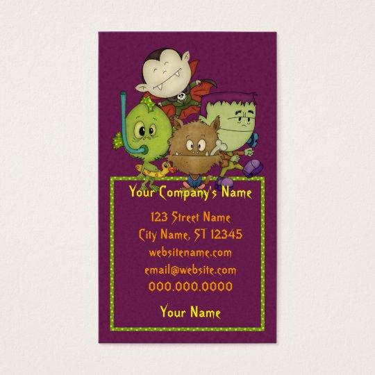 Creepy Cuties Business Card