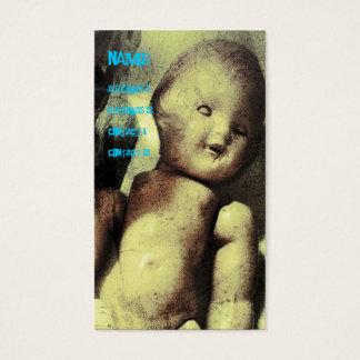 Creepy Doll Business Card