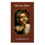 Creepy - Doll - Come play with me Double-Sided Standard Business Cards (Pack Of 100)