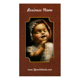 Creepy - Doll - Come play with me Business Card Templates
