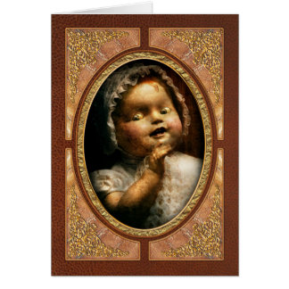 Creepy - Doll - Come play with me Card