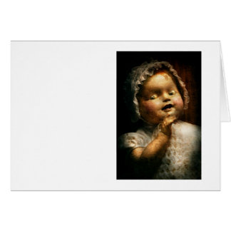 Creepy - Doll - Come play with me Greeting Card