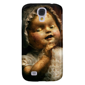 Creepy - Doll - Come play with me Samsung Galaxy S4 Covers