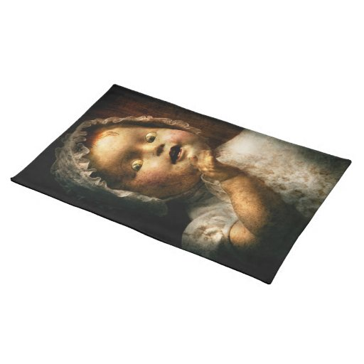 Creepy - Doll - Come play with me Placemats