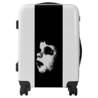 Creepy Doll Face COOL Luggage