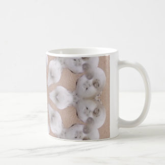 Creepy Doll Face Mandala Coffee Mug