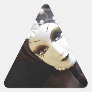 Creepy Doll Face Sticker