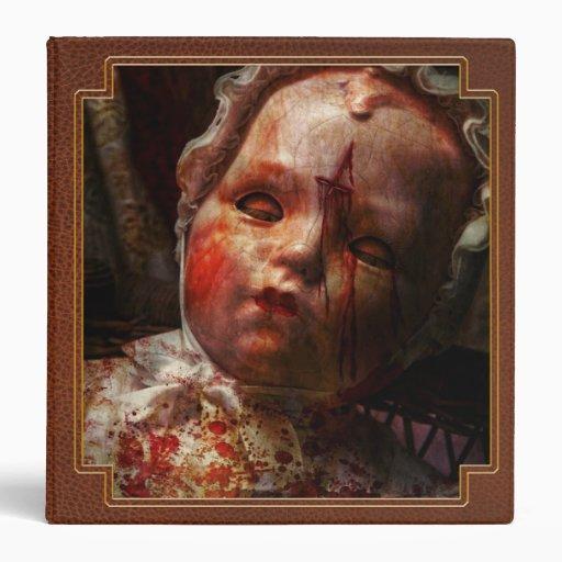 Creepy - Doll - It's best to let them sleep Vinyl Binders