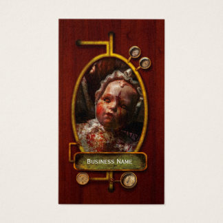 Creepy - Doll - It's best to let them sleep Business Card