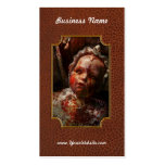 Creepy - Doll - It's best to let them sleep Double-Sided Standard Business Cards (Pack Of 100)