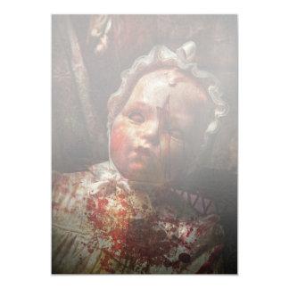 Creepy - Doll - It's best to let them sleep Card