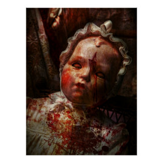Creepy - Doll - It's best to let them sleep Posters