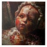 Creepy - Doll - It's best to let them sleep Tile
