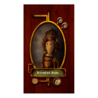 Creepy - Doll - Matilda Business Card Template
