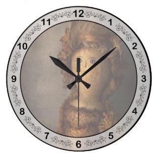 Creepy - Doll - Matilda Wall Clock