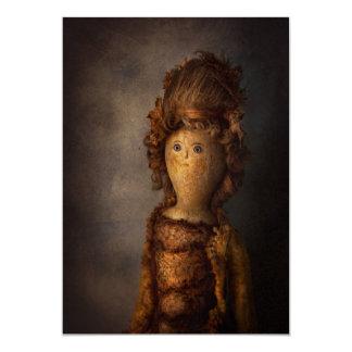 "Creepy - Doll - Matilda 5"" X 7"" Invitation Card"