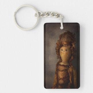 Creepy - Doll - Matilda Rectangular Acrylic Key Chains