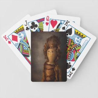 Creepy - Doll - Matilda Bicycle Playing Cards