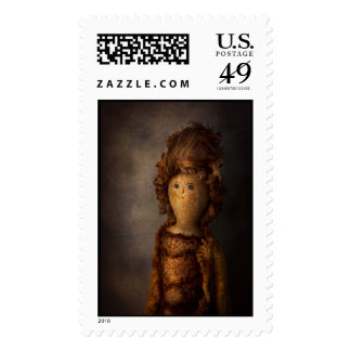 Creepy - Doll - Matilda Postage Stamps