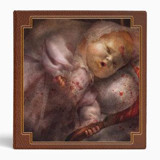 Creepy - Doll - Night Terrors Vinyl Binders