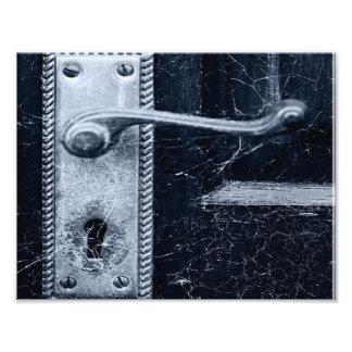 Creepy Door Handle Photo Print