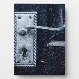 Creepy Door Handle Plaque
