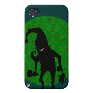 Creepy elf iPhone 4 covers