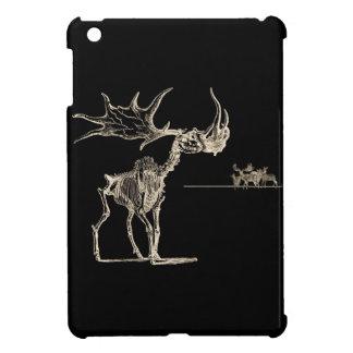Creepy Elk Skeleton with Deer Animal Bones iPad Mini Covers
