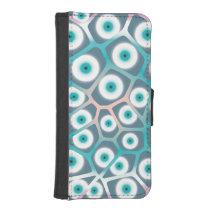 Creepy Eyes iPhone SE/5/5s Wallet Case