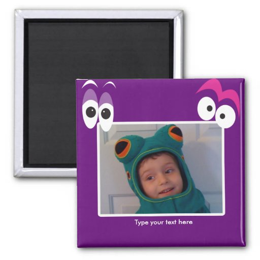 CREEPY EYES TEMPLATE Create your own Photo Magnet