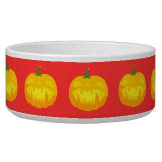 Creepy Fanged Jack-O-'Lantern Bowl