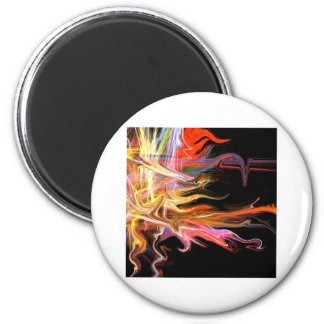creepy fire icicle abstract cosmic illustration ar magnet