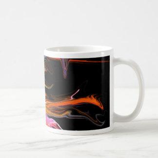 creepy fire icicle abstract cosmic illustration ar coffee mug