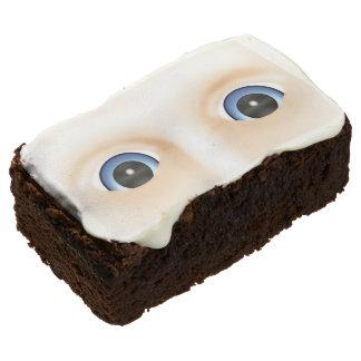 Creepy Flesh And Eyeballs Halloween Party Treats Brownie