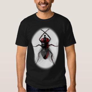 Creepy Fly (dark)T-shirts Shirt