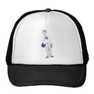 Creepy Football Hats