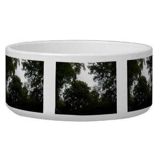 Creepy Forest Dog Bowl