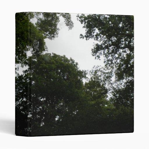Creepy Forest Photo Album Vinyl Binder