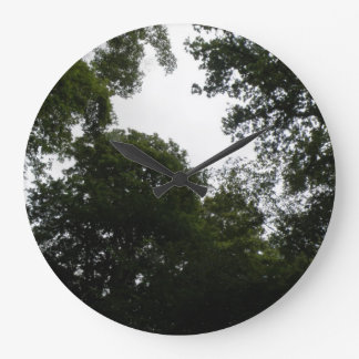 Creepy Forest Wall Clock