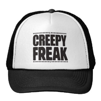 Creepy Freak Mesh Hats