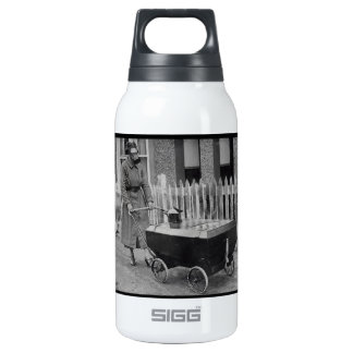 Creepy Gasmask Woman War Photography SIGG Thermo 0.3L Insulated Bottle